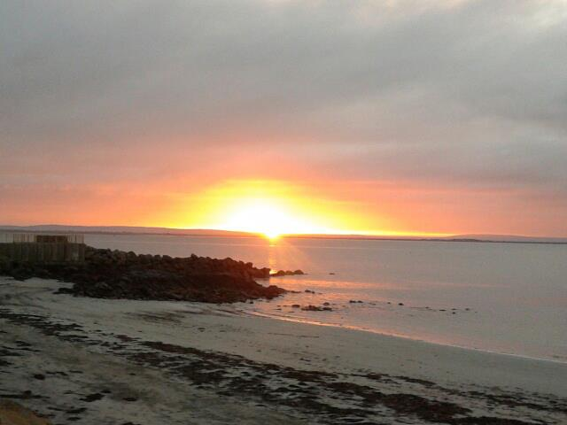 A Winter Sunrise at Salthill, Galway